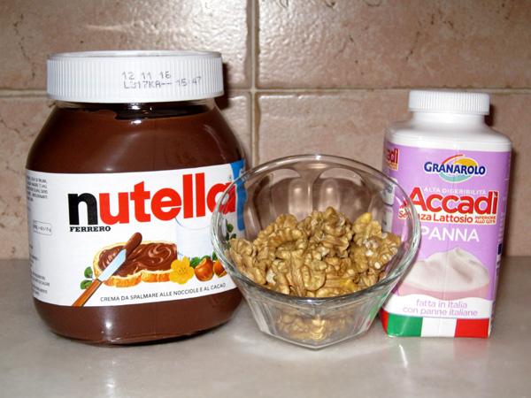 semifreddo with nutella, nutella day
